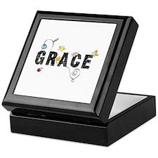 Grace Floral Keepsake Box