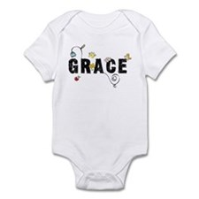 Grace Floral Infant Bodysuit