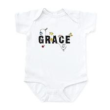 Grace Floral Onesie