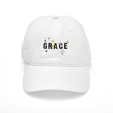Grace Floral Baseball Cap