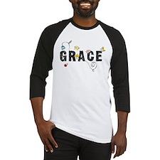 Grace Floral Baseball Jersey