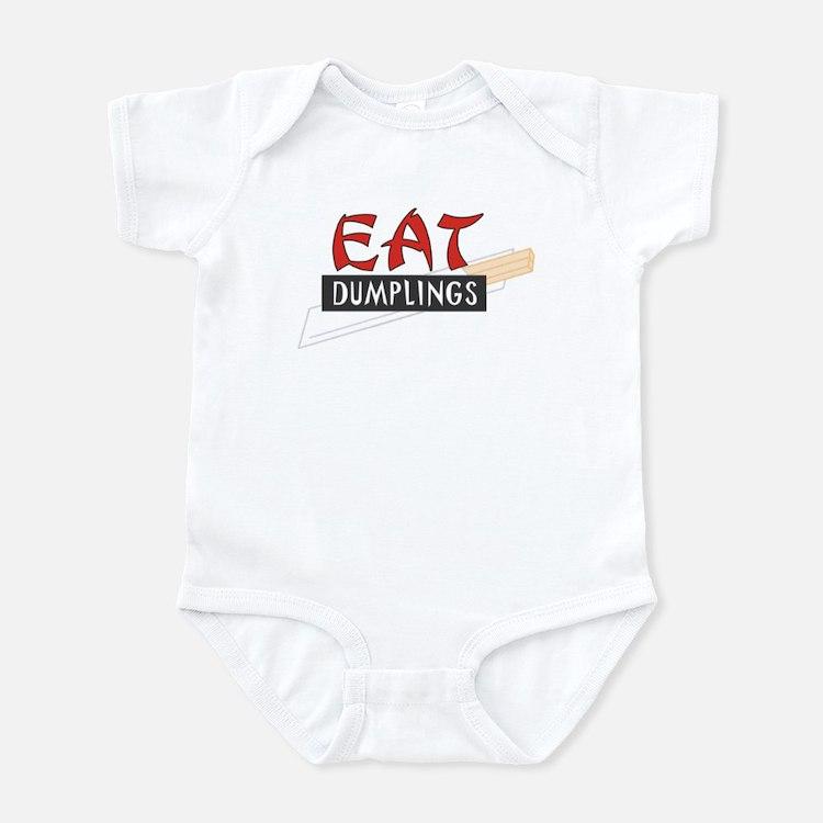 CRAZYFISH kids dumplings Infant Bodysuit