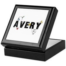 Avery Floral Keepsake Box