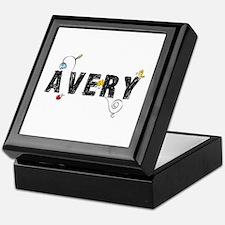 Avery Floral Keepsake Box