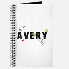 Avery Floral Journal