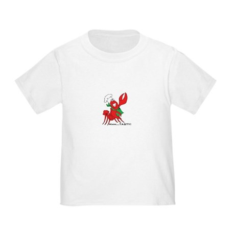 Tasty Crawfish Baby and Toddler T-Shirt