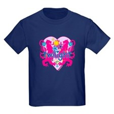 Twilight Girl Hearts and Flowers T