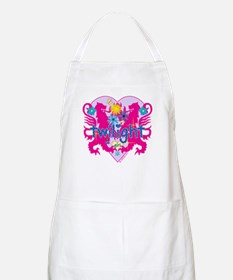 Twilight Girl Hearts and Flowers Apron