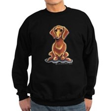 Smooth Red Dachshund Sweatshirt