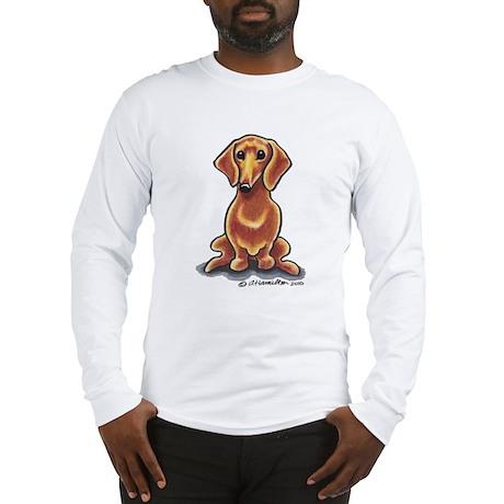 Smooth Red Dachshund Long Sleeve T-Shirt