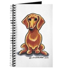 Smooth Red Dachshund Journal