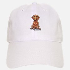 Smooth Red Dachshund Baseball Baseball Cap