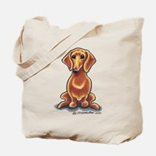 Smooth Red Dachshund Tote Bag