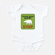 CRAZYFISH kids polar bear Infant Bodysuit