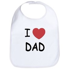I heart Dad Bib