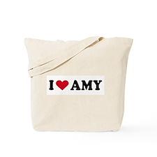 I LOVE AMY ~  Tote Bag