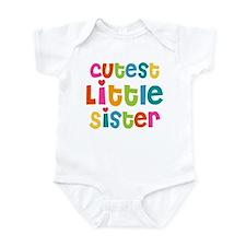 Cutest Little Sister Infant Bodysuit