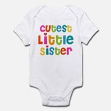 Cutest Little Sister Infant Bodysuit