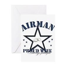 Airman Wife Greeting Card