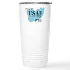 Proud wife Travel Mug