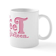 Sweet 16 Car Heart Mug