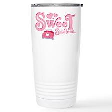 Sweet 16 Car Heart Travel Mug