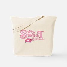 Sweet 16 Car Heart Tote Bag