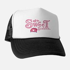 Sweet 16 Car Heart Trucker Hat