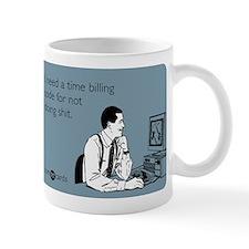 Time Billing Code Small Mug
