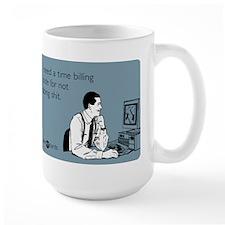 Time Billing Code Ceramic Mugs