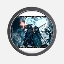 Grim Rider Wall Clock
