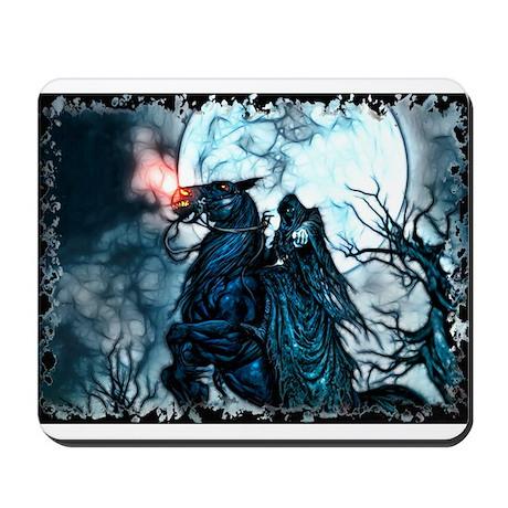Grim Rider Mousepad