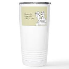 Shit Yourself Ceramic Travel Mug