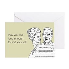 Shit Yourself Greeting Card