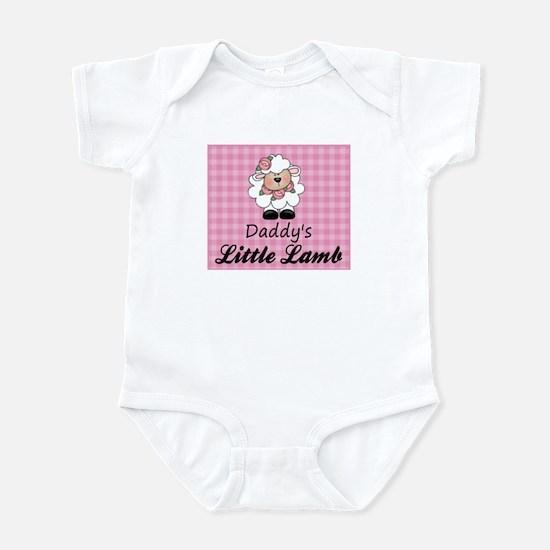 Daddy's Little Lamb Girl's Infant Bodysuit