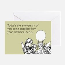 Mother's Uterus Greeting Card