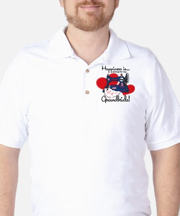 Happiness Is Sewing Golf Shirt
