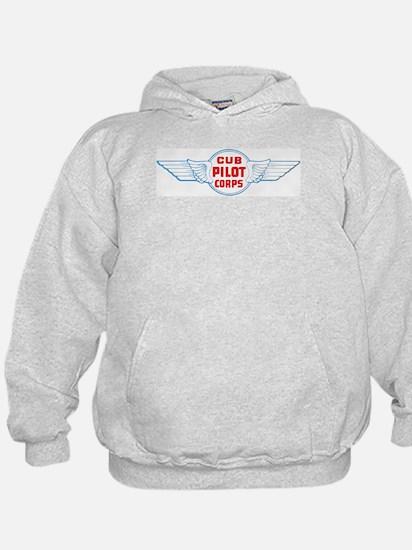 Cub Pilot Corp Hoodie