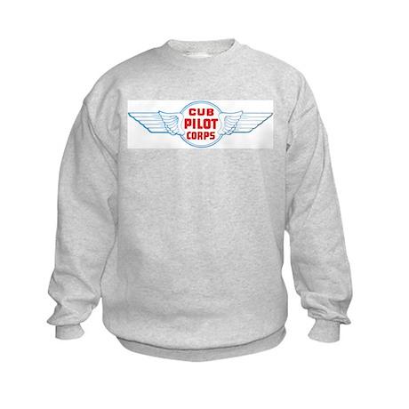 Cub Pilot Corp Kids Sweatshirt