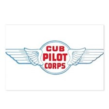 Cub Pilot Corp Postcards (Package of 8)