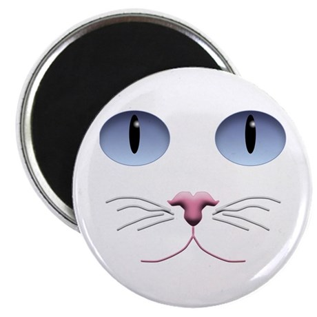 "Cat Face 2.25"" Magnet (100 pack)"