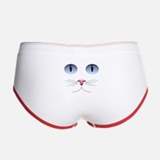 Cat Face Women's Boy Brief