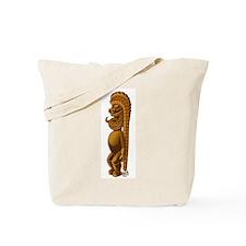 Happy Tiki Man Tote Bag
