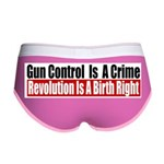 Gun Control Is A Crime Women's Boy Brief