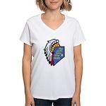 Reno Sparks Indian Police Women's V-Neck T-Shirt