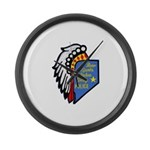 Reno Sparks Indian Police Large Wall Clock