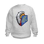 Reno Sparks Indian Police Kids Sweatshirt