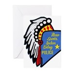Reno Sparks Indian Police Greeting Cards (Pk of 10