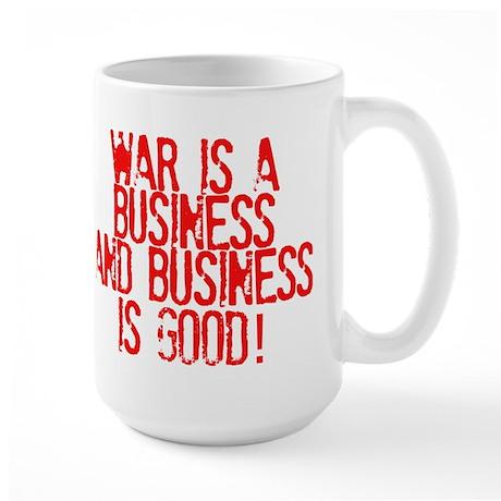 WAR Business Large Mug