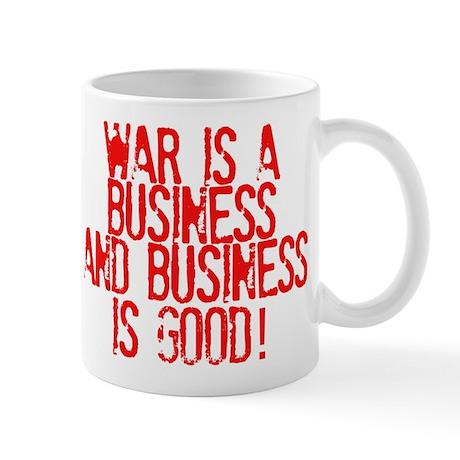 WAR Business Mug